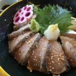 まだ間に合う春の魚!淡路島で漁師めし、鰆(サワラ)丼