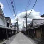 兵庫県篠山市の城下町をお散歩ツーリング