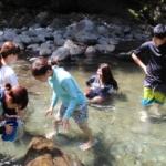 またまた東吉野で川遊び&古民家カフェ月うさぎ