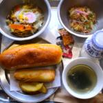 木造校舎で給食ランチ。奈良県宇陀市にあるCafeカエデ